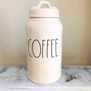 Rae Dunn coffee canister